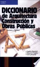 libro Diccionario De Arquitectura, Construcción Y Obras Públicas