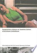 libro Imaginarios Urbanos En América Latina