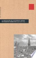 libro La Protección Del Patrimonio Urbano