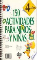150 Actividades Para Niños Y Niñas De 4 Años