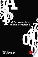 libro Alfanumerics