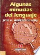 libro Algunas Minucias Del Lenguaje