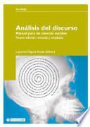 libro Análisis Del Discurso. Manual Para Las Ciencias Sociales