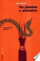 libro De Plantas Y Animales