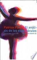 libro El Análisis De Los Espectáculos