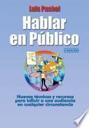 Hablar En Público, 4a Edic.