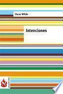 libro Intenciones (low Cost). Edición Limitada