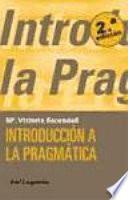 libro Introducción A La Pragmática