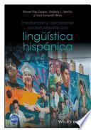 Introducción Y Aplicaciones Contextualizadas A La Lingüística Hispánica