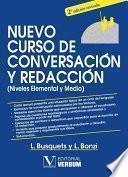 libro Nuevo Curso De Conversación Y Redacción (niveles Elemental Y Medio).