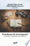 libro Periodismo De Investigación   Research Journalism