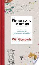 libro Piensa Como Un Artista