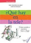 ¿qué Ponen En La Tele?