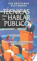 libro Técnicas Para Hablar En Público