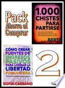 libro Cómo Crear Fuentes De Ingresos Pasivos Para Lograr La Libertad Financiera & 1000 Chistes Para Partirse