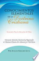libro Conocimientos Elementales De La Doctrina Cristiana