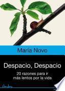 libro Despacio, Despacio