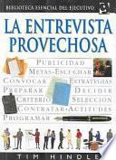 libro La Entrevista Provechosa