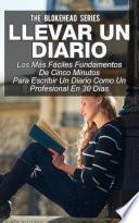 libro Llevar Un Diario