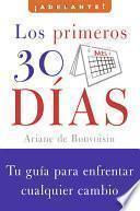 libro Los Primeros 30 Dias