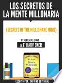 libro Los Secretos De La Mente Millonaria (secrets Of The Millionare Mind)