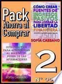 Pack Ahorra Al Comprar 2 (nº 054)
