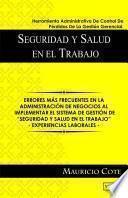 """libro """"seguridad Y Salud En El Trabajo  Herramienta Administrativa De Control De Pérdidas De La Gestión Gerencial"""