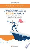 libro Transfórmate En Un Líder En 30 Días