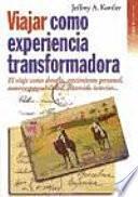 libro Viajar Como Experiencia Transformadora