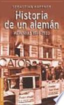 libro Historia De Un Alemán