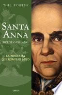 libro Santa Anna
