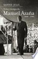 libro Vida Y Tiempo De Manuel Azaña (1880 1940)