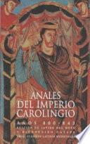 libro Anales Del Imperio Carolingio