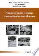 libro Análisis De Suelos Y Plantas Y Recomendaciones De Abonado
