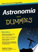 libro Astronomía Para Dummies
