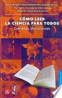 libro Cómo Leer La Ciencia Para Todos