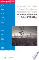 libro Ecosistema De Campo De Dalías (1950 2004)