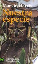 libro Nuestra Especie