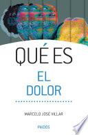libro Qué Es El Dolor