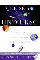 libro Que Se Yo Del Universo