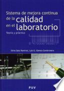 libro Sistema De Mejora Continua De La Calidad En El Laboratorio
