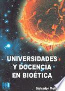 libro Universidades Y Docencia En Bioética