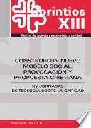 libro Construir Un Nuevo Modelo Social: Provocación Y Propuesta Cristiana