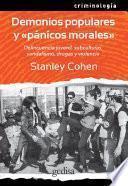 libro Demonios Populares Y  Pánicos Morales
