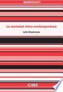libro La Sociedad China Contemporánea