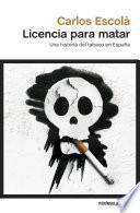 libro Licencia Para Matar
