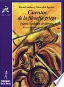 libro Cuentos De La Filosofía Griega