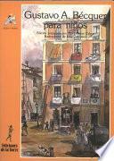 libro Gustavo A. Bécquer Para Niños
