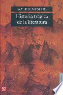 libro Historia Trágica De La Literatura