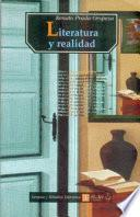 libro Literatura Y Realidad
